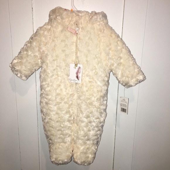 Jessica Simpson Baby Clothes Inspiration Jessica Simpson Jackets Coats Baby Girl Long Pile Faux Fur Pram